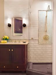 image quarter bamboo bathroom stool three quarter bathrooms sp rx white brick shower sxjpgrendhgtvcom