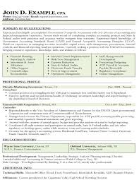 federal resume examples federal government job resume example accounting sample resume examples of accounting resumes