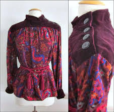 Yves Saint Laurent Russian Collection / <b>Yves Saint Laurent Blouse</b> ...