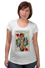 Футболка для беременных Королева сердец #671159 – заказать ...