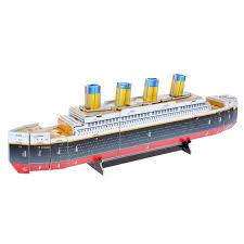 <b>3D Пазл</b> Титаник (36 деталей) <b>Zilipoo</b> — купить в Москве в ...