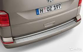 <b>Защитная накладка на задний</b> бампер для VW Т6 купить в ...