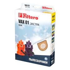 <b>Пылесборник Filtero</b> ЭКСТРА <b>VAX 01</b> синтетические (2 шт.) для ...