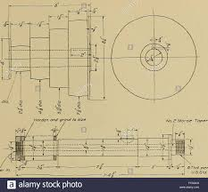 mechanical drawing for trade schools stock photo royalty mechanical drawing for trade schools 1909