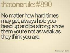 Hard Time Quotes on Pinterest | Good Times Quotes, Wisdom quotes ... via Relatably.com