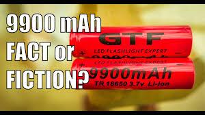 9900mAH 18650 <b>GTF</b> Li-ion battery. Fact or Fiction? (4K) - YouTube