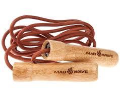 скакалка <b>mad wave</b> wooden skip rope brown m1321 04 0 00w ...