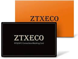 RFID Blocking Card NFC Blocker ZTXECO Anti-Theft ... - Amazon.com