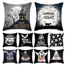 ZENGIA Хэллоуин детская <b>подушка</b> с призраком <b>Чехол</b> ...