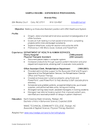 sample resume format for experienced it professionals   fantastic    sample resume format for experienced it professionals experienced resume sample packet depaul the career sample resume  sample professional