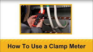How To Use a <b>Clamp Meter</b> - YouTube