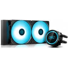<b>Водяная</b> система <b>охлаждения DeepCool Gammaxx</b> L240T Blue в ...