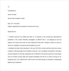 new graduate nurse cover letter graduate nurse cover letters