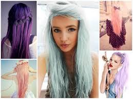 """Résultat de recherche d'images pour """"dégradé de violet cheveux"""""""