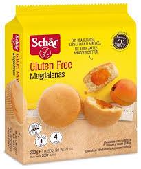 Мини-<b>кекс</b> Schar Magdalenas с абрикосовым джемом без ...