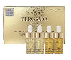 <b>Набор</b> сывороток с золотом и икрой <b>Bergamo Luxury Gold</b> ...