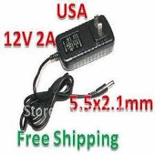 Dhl <b>50Pcs</b>/lot Ac 100-240V To Dc <b>12V 2A</b> Power Adapter Supply ...