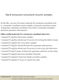 sample resume restaurant manager sample resume cover sample resume restaurant manager toprestaurantconsultantresumesamples lva app thumbnail
