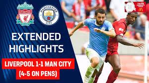 Liverpool 1-1 Man City (4-5 on pens) | Jesus & Bravo Shine in Shoot ...