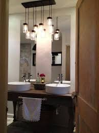 bathroom guest bathroom ideas to decorating guest bathroom ideas with multiple jar pendant lighting bathroom pendant lighting ideas