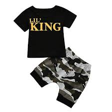 MOGOV Baby Boys 2019 Summer Trend New Letter T ... - Amazon.com
