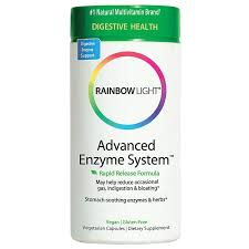 <b>Advanced Enzyme System</b> (180 Veggie Caps) by Rainbow Light ...