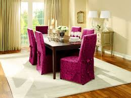 Red Dining Room Sets Dinning Room Chairs And Elegant Purple Red Floral Pattern Chair