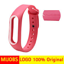 Online Shop New Mjobs Miband 2 <b>Strap Double Color</b> Replacement ...