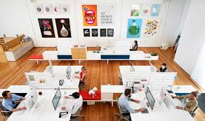office advertising agency office