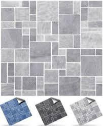 <b>Mosaic</b> Style <b>Wall Tile Stickers Self Adhesive Kitchen Bathroom</b> ...