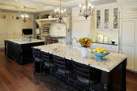Black And White Kitchen Table Kitchen Island Dining Table Combination