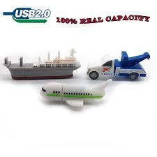 Cute <b>cartoon plane</b>/<b>crane car</b>/<b>ship usb flash drive</b> 64gb 32gb 16gb ...
