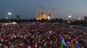 Adana'da 15 Temmuz yürüyüşü