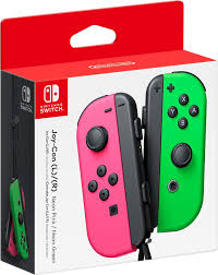 <b>Joy</b>-<b>Con</b> (L/R) Wireless Controllers for <b>Nintendo</b> Switch Neon Pink ...
