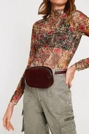 UO Suede Oval <b>Belt Bag</b>   Yaya in 2019   Bag accessories, Bags, Belt