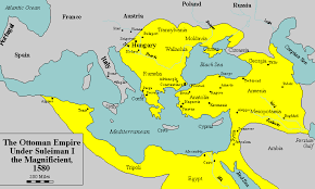 Bildresultat för ottoman empire map