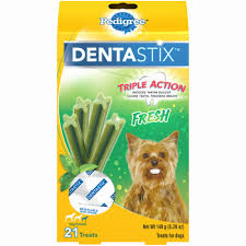 Pedigree DentaStix Triple Action <b>Fresh</b> Oral Care <b>Treats</b> for Small ...