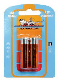 <b>Батарейки AA</b> HR6 аккумулятор Ni-Mh 2600 mAh 2шт., купить ...