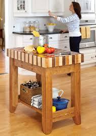 block kitchen cart diy