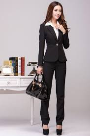 sgd38 58 wear ladies interview suit trousers navy blue dress lightbox moreview · lightbox moreview
