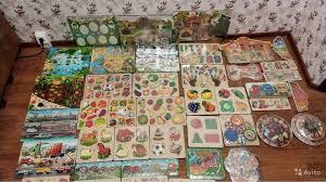 Пазл рамки Развивающие <b>игрушки деревяшки</b> новые купить в ...