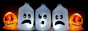 decor ghosts fun