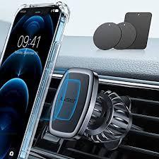 LISEN Car Phone Holder Mount, [Upgraded Clip ... - Amazon.com