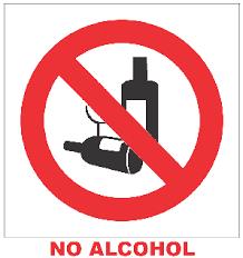 Resultado de imagen para no al alcohol