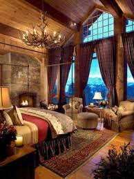 cosy bedroom fireplace warm warm wood paneled country cottage cabin cozy cabin or rustic ranch hou