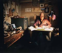 the man who never grew up the life and legacy of roald dahl the image of roald dahl in his writing hut