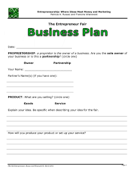 kid entrepreneurs business plan