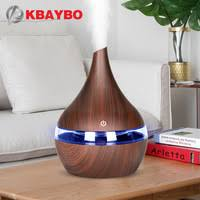 <b>KBAYBO 300ml</b> USB Electric Aroma air diffuser wood grain...