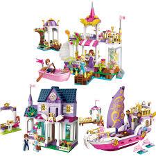 Princess Castle <b>Building Blocks</b> Girl Friend <b>Models</b> Assembly <b>Bricks</b> ...