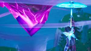 Where to touch a giant glowing cube, enter a Rift above Loot Lake ...
